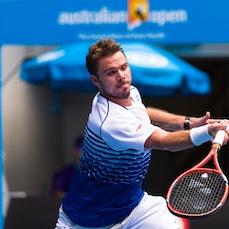 2015 Australian Open Day 4 - Featuring Djokovic, Wawrinka, Monfils, Wozniacki, Azarenka