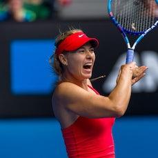 2015 Australian Open Day 9 - Featuring Nadal, Sharapova, Bouchard, Makarova, Halep, Berdych, Murray, Kyrgios