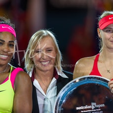 2015 Australian Open Day 13 - Featuring Women's Final match between S. Williams and Sharapova