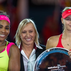 2015 Australian Open Day 13 - Featuring Women's Final match between S. Williams and Sharapova