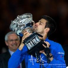 2015 Australian Open Day 14 - Featuring Men's Final Match between Djokovic and Murray