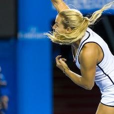 2015 Australian Open Day 8 - Featuring Cibulkova, Azarenka, S. Williams, Muguruza, Wawrinka, Garcia-Lopez