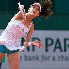2015 French Open Day 2 - Featuring, Sharapova, Murray, Radwanska, Pliskova, Stosur, Tomic, Kyrgios, Watson, Lim, Thiem, Bedene,