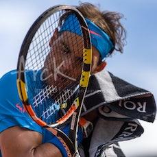 2015 French Open Day 9 - Featuring Nadal, Muguruza, Sharapova, Safarova, Monfils