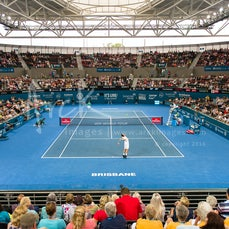 2016 Brisbane International - Featuring Federer, Nishikori, Cilic, Tomic, Muguruza, Azarenka, Bencic, Stosur, Suarez Navarro, Makarova, Stepanek, Nishioka,...