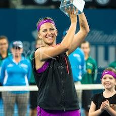 2016 Brisbane International Semis & Finals - Featuring Federer, Raonic, Tomic, Thiem, Azarenka, Kerber, Cash, Ivanisevic,