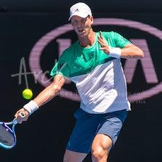 2016 Australian Open Day 1 - Featuring Djokovic, Federer, Tsonga, Berdych, Cilic, Baghdatis, Sharapova, Stosur, Radwanska, Bouchard, Watson