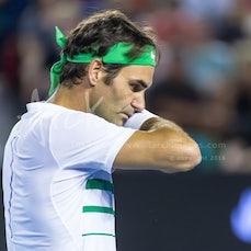 2016 Australian Open Day 5 - Featuring Federer, Djokovic, Kyrgios, Sharapova, S. Williams, Bencic,