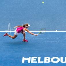 2016 Australian Open Day 8 - Featuring Murray, Tomic, Konta, Madison, S. Zhang