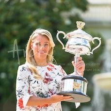 2016 Australian Open Women's Champion Photo Shoot - Featuring Kerber