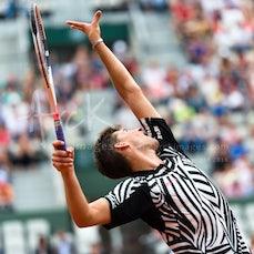 2016 French Open Day 7 - Featuring Djokovic, Thiem, Zverev, S. Williams, Mladenovic, Ferrer, Lopez, V. Williams, Berdych, Cuevas, Almagro, Goffin, Bedene