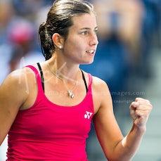 2016 US Open Day 7 - Featuring Djokovic, Edmund, Konta, Sevastova, Wozniacki, Keys