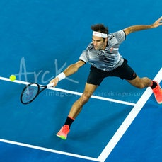 2017 Australian Open Day 9 - Featuring Federer, Wawrinka, Tsonga, Vandeweghe, Muguruza,