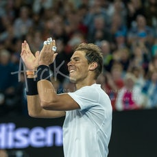 2017 Australian Open Day 10 - Featuring Nadal, Dimitrov, Konta, Serena Williams