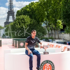 2017 French Open Day 16 Rafael NADAL Champion Trophy Photo Shoot - Featuring Nadal at Men's Champion Trophy Photo Shoot
