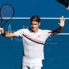 2018 Australian Open Day 8 - Featuring Federer, Djokovic, Chung, Halep, Kerber, Hsieh, Osaka