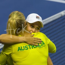 2018 Fed Cup World Group Play-Offs (AUS vs NED) Day 2 - Featuring Barty & Gavrilova