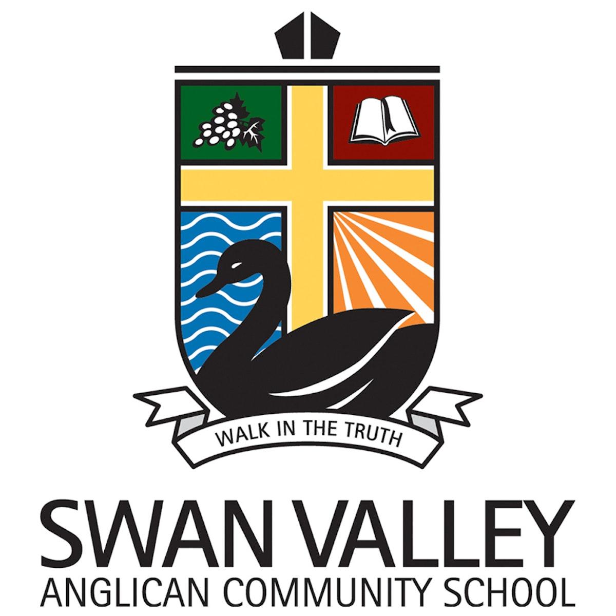 SwanValley Logo vert col