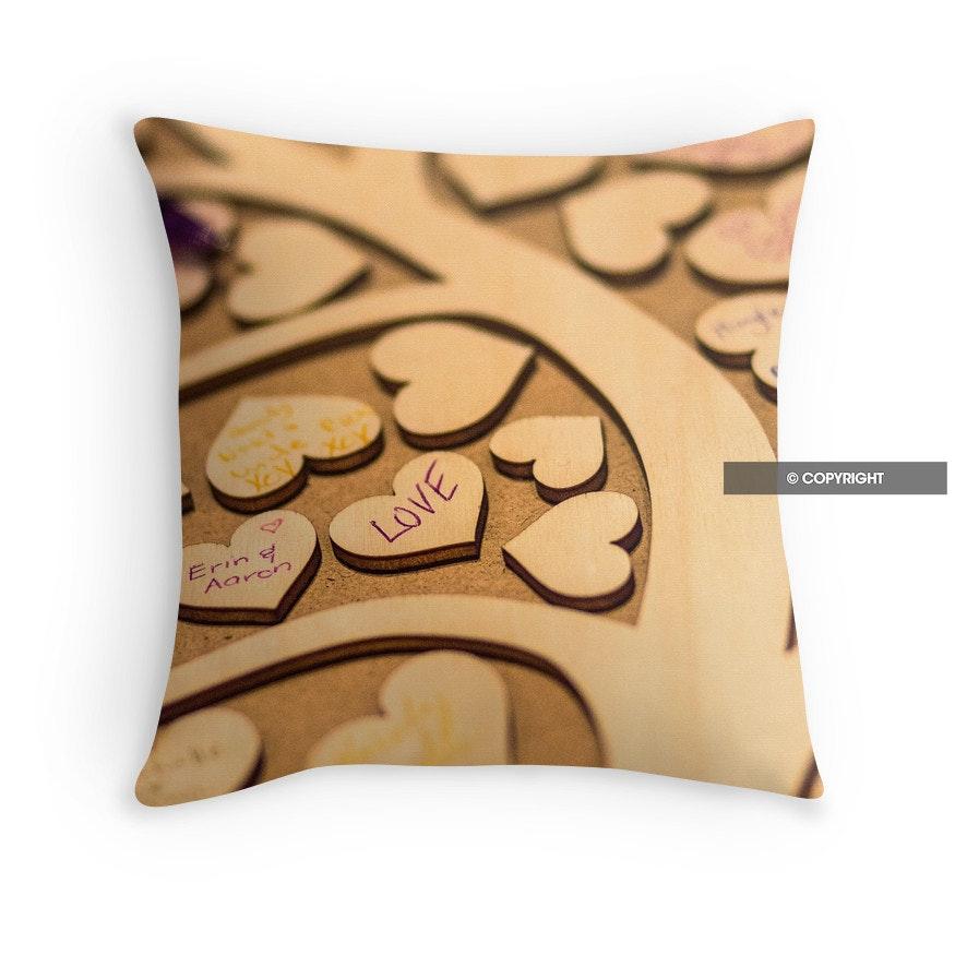 The Love Tree cushion