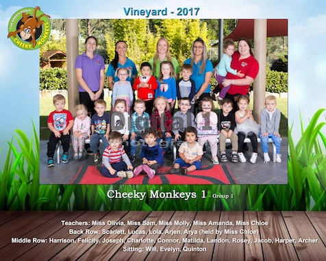 Vineyard 2017 - School Photos 2017