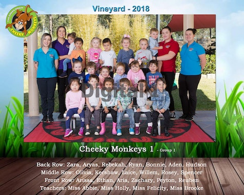 Vineyard 2018 - Fit Kids School Photos