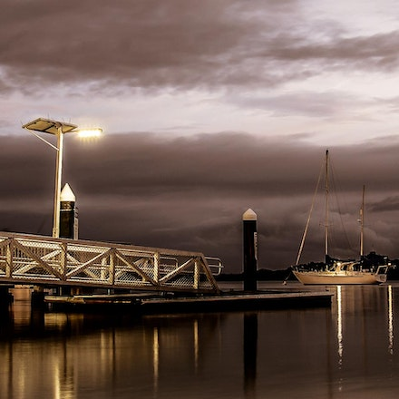 dock of the night bay by www.candyscapedesigns.com.au (1 of 1)