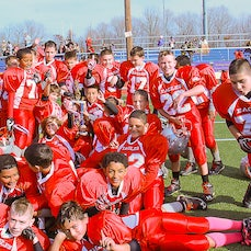 Wolcott Jr. Pee Wee Football CT Northern State Champions '14