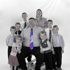 The Stemm Family - Photographed by Kerry Walker