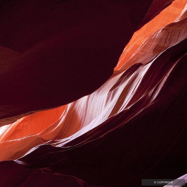 Eroded Sandstone 003 - Arizona slot canyon