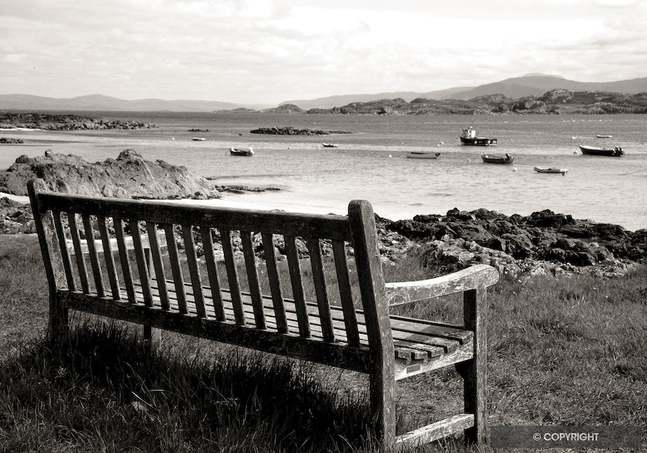 Peaceful View - Iona, Inner Hebrides, Scotland, UK