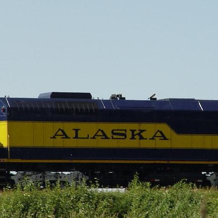 Alaska Railroad Car
