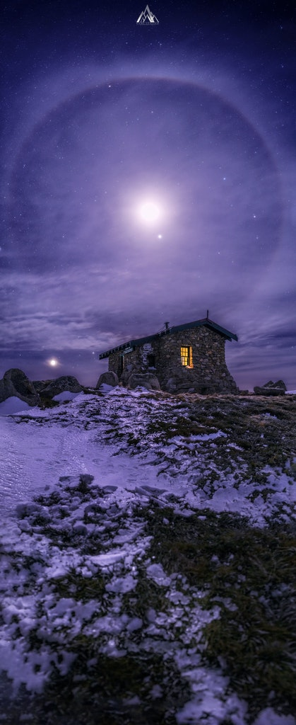Lunar Phenomena. Seamans Hut, Kosciuszko. - Lunar Phenomena. Seamans Hut, Kosciuszko.  I just arrived home from a OOAK Extreme Adventure, after the 4...
