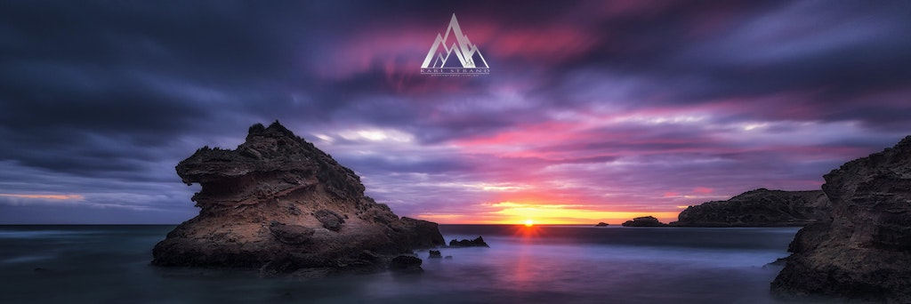 Quest For Light. Bay Of Islands, Mornington Peninsula, Victoria, Australia. - Quest For Light. Bay Of Islands, Mornington Peninsula, Victoria, Australia.