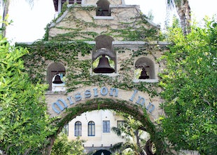 The Mission Inn, Riverside, CA - Pictures taken on a tour of this Spanish Mission style hotel.