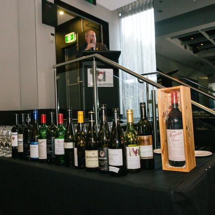 RA Wine Tasting - Closing the conference with a wine tasting competition.