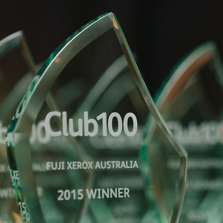 Fuji Xerox - Club100 Awards Dinner at Mercure Kooindah Waters