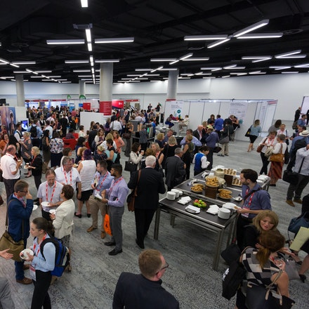 Exhibitions Gallery - Exhibitions are always a hive of activity, with delegates networking with each other  and engaging with stall holders.  When canvassing...