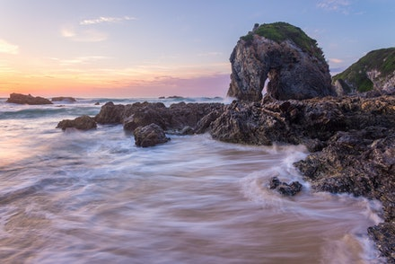 Horsehead Rock - Sunrise at this iconic location near Bermagui.