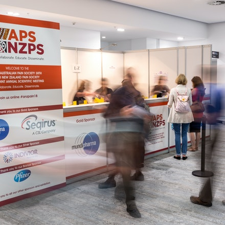 APS / NZPS Conjoint Scientific Meeting - Australian Pain Society & New Zealand Pain Society Conjoint Scientific Meeting, 8th - 11th April 2018, International...