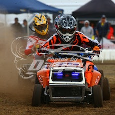 LAWN MOWER RACES at Gippsland Motorplex/Bairnsdale Dragway - Not all but in most cases I can photoshop out the coloured drums that may be a distraction...