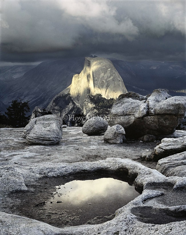 0010 Stormlight Half Dome Yosemite
