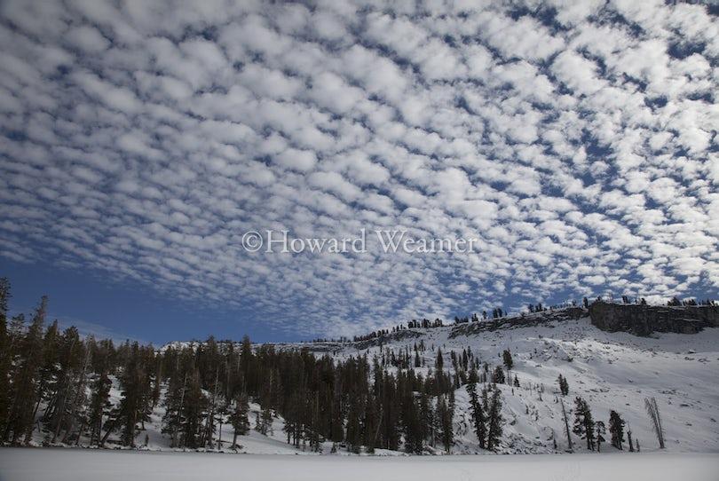 0254 Clouds above Horse Ridge