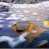 0245 Columbine Peak reflection Dusy Basin Kings Canyon National Park