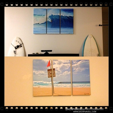 Canvas Wall Splits - Single image mosaic across multiple prints. Wall Splits available in canvas in a variety of different shapes and sizes. Please email...