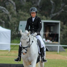 Young Riders and Pony Dressage Champs 2014 Day 1