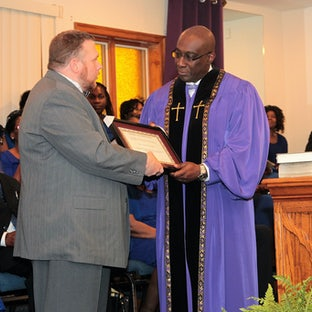 Ordination of Pastor Cooper