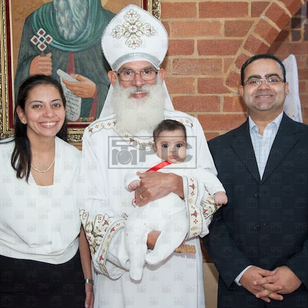 Christening of Kevin Gergis