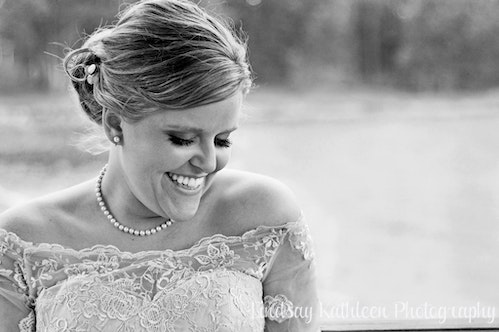 Emily_Rob Wedding_Bride Laughing_Lindsay Kathleen Photography