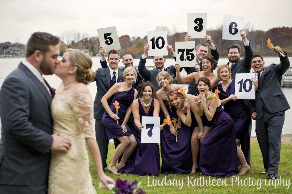 Emily_Rob Wedding_Bridal Party Funny_Lindsay Kathleen Photography