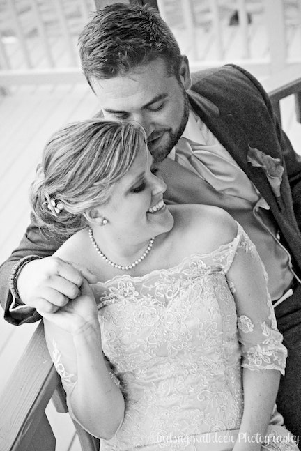 Emily_Rob Wedding_Bride and Groom Sitting_Lindsay Kathleen Photography